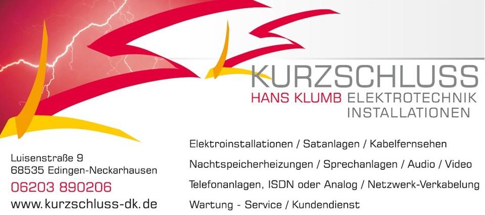KURZSCHLUSS - Hans Klumb Elektrotechnik Installation